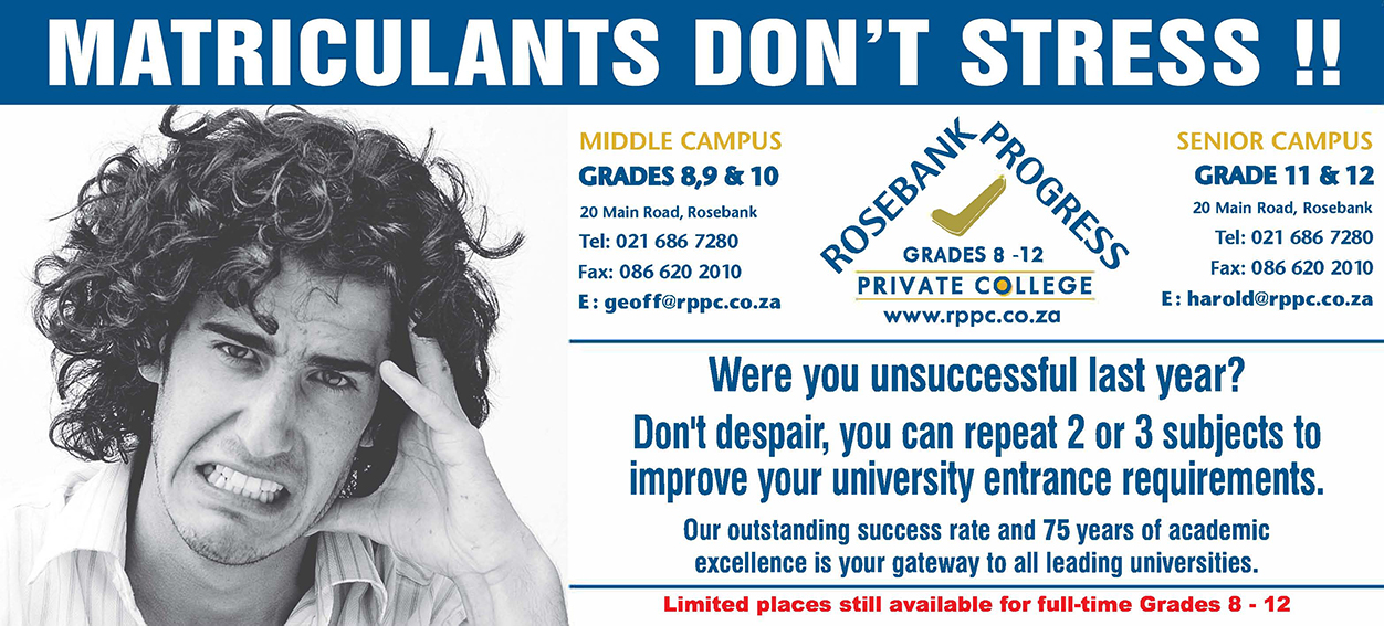 Matric Upgrade in Cape Town2